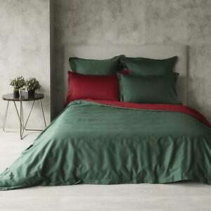 Dynasty Emerald Egyptian Cotton Quilt Cover Set