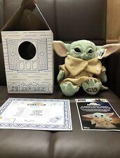 NEW Build A Bear The Child Mandalorian Baby Yoda Star Wars BUNDLE w/ SOUNDS