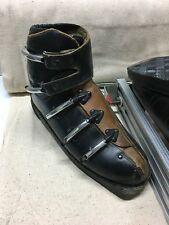 Antique Kastinger Golden Ski Boots Made In Austria Size 10