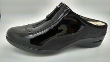 Cole Haan Nike Air Luna Black Patent Waterproof  SHRIG CLOG MULES 7 B