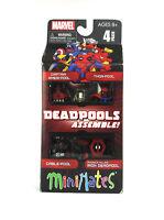 Marvel Minimates Deadpools Assemble Box Set 4 Figures SDCC Exclusive Cable Thor