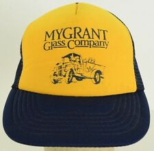 Mygrant Glass Company migrant traveler delivery Mesh Trucker Cap Hat Adjustable