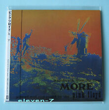Pink Floyd More Japon MINI LP CD TOCP - 65733 in Comme neuf