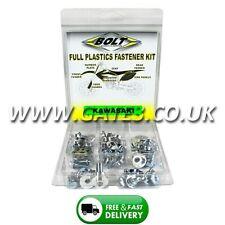 KAWASAKI KX250 1988-1989 Full Plastics Fastener Kit - Nuts/Bolts/Washers
