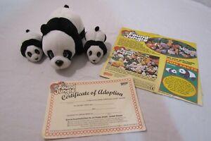 Pound jungle Galoob- pound puppies Panda set with adoption paper