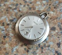 Vintage Seiko Skyliner 21 Jewels JDM  6102 0010 July 1968 Pocket Watch ASGP