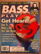 Nov 2000 BASS PLAYER Magazine - Green Day, A Perfect Circle, Bar-Kays, Jaco CD