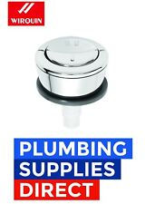 Wirquin Pro Dual Toilet Flush Button Push Button Jollyflush Chrome Finish