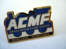 PINS ASSOCIATION CHAMPENOISE MODELISME FERROVIAIRE TRAIN