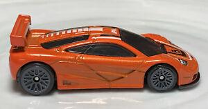 Hot Wheels McLaren F1 GTR Orange 1/64 Diecast Loose
