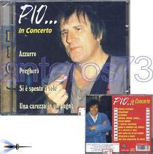 """PIO """"IN CONCERTO"""" CD 11 BRANI 1998 - ADRIANO CELENTANO"""