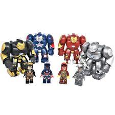 Iron Man Hulkbuster Action Mini Figur Marvel Avengers Tony Stark Patriot Figuren