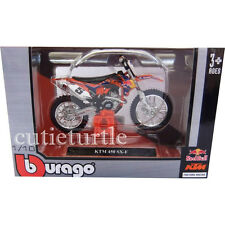 Bburago Red Bull KTM 450 SX-F 2014 Dirt Motorcycle 1:18 51072 Ryan Dungey #5