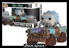 RICK & MORTY - MAD MAX RICK FUNKO POP! VINYL FIGURE RIDE #037