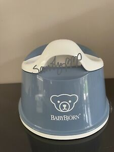 NEW Baby Björn Deep Blue & White Smart Potty, BNWT, UK Powerseller