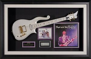 Prince and the Revolution Band signed Display