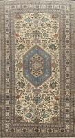 Antique Geometric Traditional Hand-knotted Area Rug Wool Oriental Carpet 5'x9'