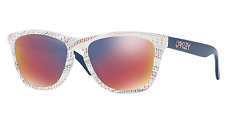 NEW Oakley Frogskins Sunglasses-White Team USA Kinetest-SAME DAY SHIPPING!