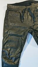 G Star Raw Waxed Joggers Jeans Size 32/30