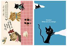 Shinzi Katoh Japan Kawaii Zakka Postcard Set: Cats
