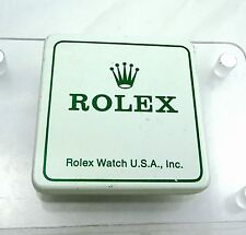 1976 Rolex Watch USA Part Tin Box Material Container