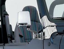 Rampage 7504 Door Mirror Kit Left Right  For 1987-1995 Jeep Wrangler(YJ) Half D