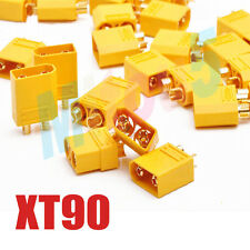 10 Pairs XT90 Bullet Connector Male Female For RC Model Battery - 4.5mm Bullets