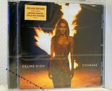 Cd Céline DION Courage Deluxe Edition limitée neuf 11/2019 20 titres 4 bonus