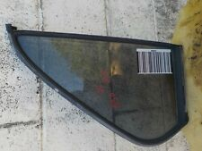 84-87 BMW E30 Passenger Right Rear 4 Door Glass Vent / Quarter Window w Seal OEM