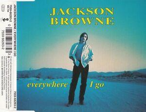 JACKSON BROWNE Everywhere I go / I'm alive (live) / The Pretender (live) Maxi-CD