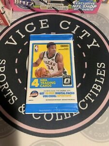 (LOT of 10) 2017-18 Donruss Optic Basketball 4 Card Pack Factory Sealed