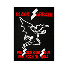 BLACK Sabbath OFFICIAL PATCH We Sold Our Soul For Rock N Roll ricamate Ozzy
