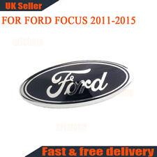1x Oval Badge Front Back Bonnet Emblem For Ford Focus 2011-2015