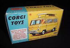 CORGI 420 FORD THAMES AIRBORNE CARAVAN vuoto repro box
