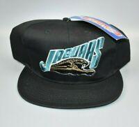 Jacksonville Jaguars ANNCO NFL Vintage 90's Twill Snapback Cap Hat - NWT