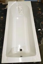 1800 X 750 Single Ended Rounded Internal Bath Tub White