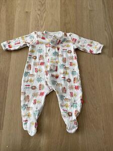 Organic Cotton Magnetic Me Animals Footie Pajamas - 3-6 Months