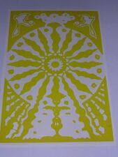 RARE VINTAGE ETW PSYCHEDELIC Poster AQUARIAN AGE