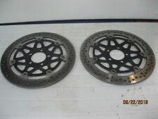 07' Kawasaki ZZR600 Front Brake Rotor Left & Right Pair 07'-08' KA41080-1442-5C