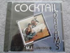 M.J. Lawrence-Cocktail Dreams-CD NEUF & neuf dans sa boîte New & Sealed Champignon 1992 GERMANY