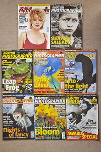 JOB LOT… 8 x 'AMATEUR PHOTOGRAPHER' magazines Feb, March, April, 1997 Vintage!