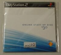 Sony Playstation 2 PS2 Online Start Up Disc Version 3.0 New Sealed