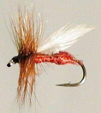 Mouches rouge truite pour la pêche