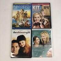 Abigail Breslin 4 DVD Lot Nims Island The Ultimate Gift My Sisters Keeper Kit