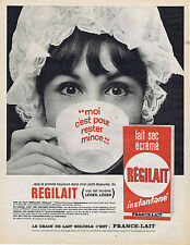 PUBLICITE ADVERTISING 064 1965 REGILAIT le lait sec écrémé