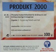 Kutterhilfsmittel Diphosphat Bindemittel  100g