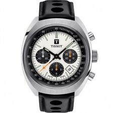 NEW LIMITED EDITION TISSOT HERITAGE 1973 PANDA AUTO CHRONO T124.427.16.031.00