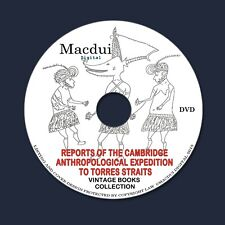 Cambridge Anthropological Expedition to Torres Straits – E-books 6 PDF on 1 DVD