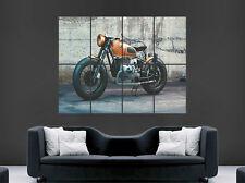 BMW MOTORCYCLE MOTORBIKE POSTER RENDER ART PRINT LARGE HUGE