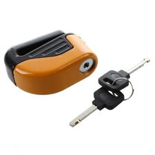 Blocked Disc Lock Alarm stainless steel universal motorcycle safety C6E3 G3 W3T1